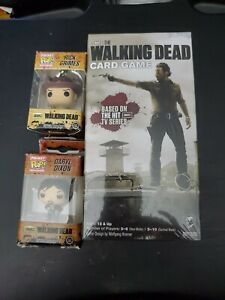 The Walking Dead Card Game plus Rick Grimes and Darryl Dixon Pocket Pops