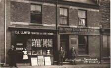 More details for llanrhaeadr-ym-mochnant near oswestry. bank house shop by & showing lloyd, ll~.
