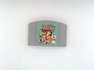 N64: Banjo-Tooie (Nintendo 64 game)  Tested, Works!