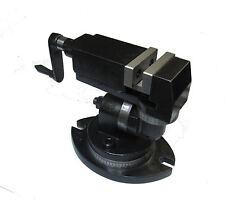 RDGTOOLS universel vice 50mm 3 voies haute qualité fraisage de perçage de hachage outils