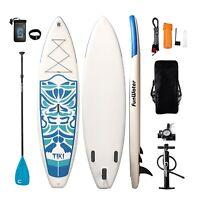 "10'6""*33""*6""Inflatable Paddle Board Sup W/ Paddle,Bag,Leash,Pump,Phone Bag"