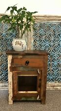 Rustic Painted Bedside Cabinet, Nightstand, Furniture, Home Decor