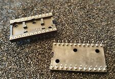 TYCO/AUGAT 4-1437536-1 Connector DIP IC Socket 24 pin 2.54mm GOLD  NEW  Qty.2