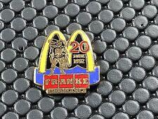 pins pin RONALD MC DONALD'S MC DO FRANKE