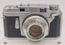 Army PX EP - Konica III Film Rangefinder Camera Hexanon 48mm F2 Lens - Needs CLA