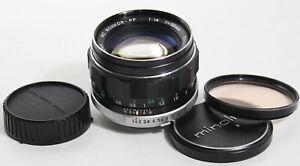 Vintage Minolta MC /Rokkor PF 58mm f1.4 Manual Focus SLR Camera Lens