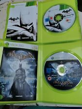 Xbox 360: Batman 2 Juego Bundle! Arkham Asylum Y Arkham City