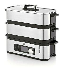 WMF CE Kitchenminis Vitalis E Steamer, Stainless Steel 900watts