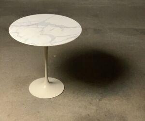 Vintage Eero Saarinen Marble Tulip Table by Knoll