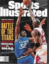 Sports Illustrated 1995 MICHAEL JORDAN Chicago Bulls SHAQUILLE O'NEAL Orlando NL