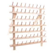 Universal 63 carrete de madera soporte del hilo soporte organizador bordado