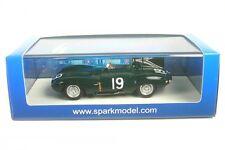 Jaguar D Numéro 19 Gangant 12h Sebring 1955 (M. Hawthorn - P. Walters)