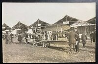 Mint RPPC Real Picture Postcard Early Aviation Exhibition 1910 France