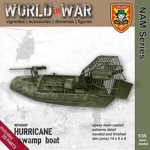 World in War - 1/35 Resin Model HURRICANE swamp boat Sp.Forces - Vietnam War
