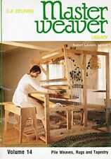 MASTER WEAVER LIBRARY VOLUME 14 By S. A. Zielinski *Excellent Condition*