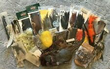 Huge Lot Fly Fishing Feathers 1950's to 90's Metz/Umpqua/Cabela's /Unbranded