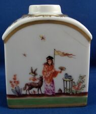 Great Meissen Porcelain Chinoiserie Teacaddy Tea Jar Caddy Porzellan Teedose
