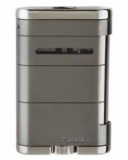 XiKAR 535G2 Allume Triple Flame Table Top Cigar Lighter Gunmetal Warranty