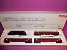 MÄRKLIN H0 28524 DELTA: DSB Hurtigtog Personenzug