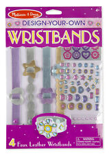 Melissa and Doug Design-Your-Own Wristbands #9473 New Sealed
