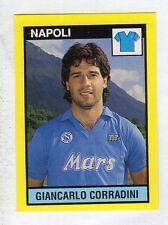 figurina IL GRANDE CALCIO VALLARDI 1988/89 NUMERO 191 NAPOLI CORRADINI