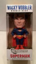 FUNKO Wacky Wobbler DC Universe Collectible SUPERMAN Bobblehead NIB