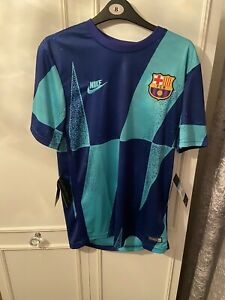 Barcelona 2019/2020 Medium Pre-match shirt *BNWT*