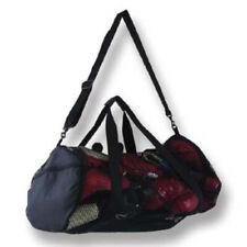 Mesh Round Sports Duffel Bag Holdall Carry Kit Gym Breathable Martial Arts