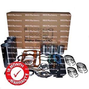ENGINE OVERHAUL KIT FOR MASSEY FERGUSON 135 550 TRACTORS. AD3.152 PIMPLE BOWL.