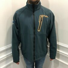 Columbia XL Titanium Interchange Jacket Blue Full Zip Company Logo Long Sleeve