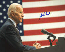 Joe Biden Authentic Hand Signed 8x10 Photo Barack Obama Vice President Democrat