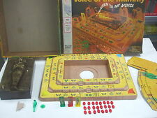 VOICE OF THE MUMMY vintage 1971 Milton Bradley Game w/ Original Box 90% Complete