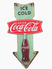 Coca-Cola Small Arrow Fishtail Sign Ice Cold - BRAND NEW