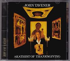 John Tavener - Akathist Of Thanksgiving - CD (SK64 446 Sony Classical SBM 1994)