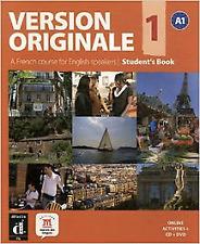Version ORIGINALE 1 Students Book CD DVD English Edition