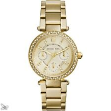 Michael Kors MK6056 Women's Watch Stainless Steel Colour: Yellow Gold with