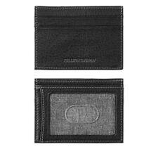 Johnston & Murphy RFID Leather Weekender Card Case - Black  46-13006