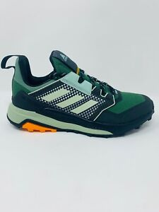 Adidas Terrex Trailmaker Women Trail Hiking Shoes Green Crew Orange Size 8,8.5