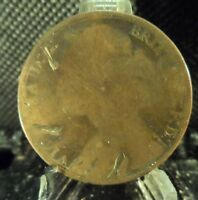 CIRCULATED 1881 1 PENNY UK COIN (11819).....FREE DOMESTIC SHIPPING!!!!!