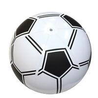 35cm PVC Inflatable Football Soccer Kids Toy Swimming Pools Outdoor Beach Bal_DS