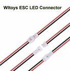 2-Pin Micro LED ESC Connector WLTOYS 144001 124019 124018 104001 RC Car Parts