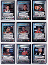 Star Trek CCG Motion Pictures InComplete Set Nr/Mint, 126 Cards. No UR or DA's