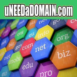U Need A Domain - uneedadomain.com - DOMAIN NAME - Great TLD for Domain Sellers