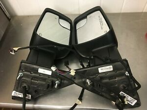 2019-2020 Ram 1500 Truck Left & Right Side Turn Signal Door Mirrors OEM