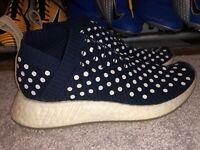 Womens Adidas Originals NMD CS2 Primeknit Ronin Sneaker Navy BA7212 Size 9