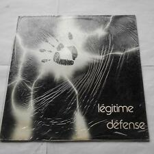 *LEGITIME DEFENSE S/T SEALED!! CANADA QUEBEC PRIVATE FRENCH PROG RENE LUSSIER LP