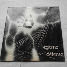 LEGITIME DEFENSE S/T SEALED!!! CANADA QUEBEC PRIVATE FRENCH PROG RENE LUSSIER LP
