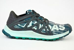 Adidas Vigor Bounce Trail Running Shoes Lightweight Green Sneakers Womens Size 8