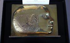 Pierre-Yves Tremois Sculpture Bronze poli poisson Femme signé numéroté 1988 *