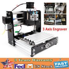3 Axis Cnc 1018 Pro Diy Router Mini Engraving Machine Pvc Engraver Grbl Control